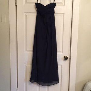 Bill Levkoff strapless dress